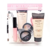 Laura Geller Fresh Favorites 4 Piece Collection: Spackle Tinted Make-Up Primer Ethereal 2 Oz., Backed Eyeshadow Due Amethyst/Unearthed .06 Oz., Color Luster Lip Gloss Berry Smoothie .21 Fl Oz. Double-Ended Shadow/Liner Brush