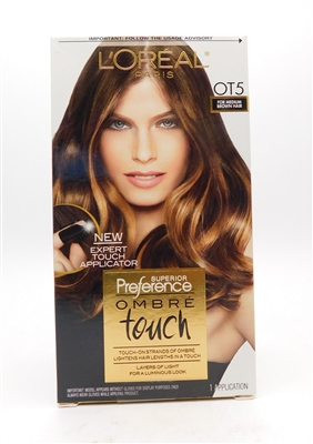 Loreal Paris Superior Preference Ombre Touch OT5 for Medium Brown Hair 1 Application