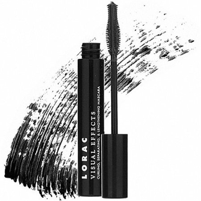 Lorac Visual Effects Curling, Separating, & Lengthening Mascara-Jet Black-0.47 oz