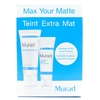 Murad Max Your Matte: Clarifying Cleanser 1.5 Fl Oz., Oil-Control Mattifier SPF15 1 Fl Oz.