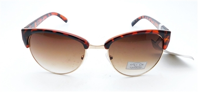 Oscar by Oscar de la Renta Sunglasses Mod.3053 718 Tortoise and Gold