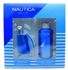 Nautica Blue Set: Eau de Toilette Spray 1.7 Fl Oz., Deodorizing Body Spray 4 Oz.