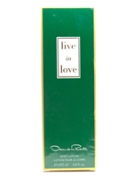 Oscar de la Renta Live in Love Body Lotion 6.8 fl oz
