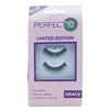 Perfect 10 Instant Lashes Grace: 1 Pair Strip Lashes, Lash Adhesive