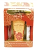 Pacifica Take Me There Tuscan Blood Orange Set: Body Butter 2.5 Fl Oz., Perfumer Roll-On .33 Fl Oz., Natural Color Quench Lip Tint .15 Oz.