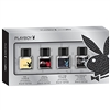 Playboy Eau de Toilette Set: VIP, Vegas, New York, Hollywood .67 Oz ea