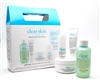 Philosophy Clear Days Ahead 30 day Acne Trial Kit:  Cleanser 90ml, Moisturizer 15ml, Pads 30ct,  Spot Treatment 7ml