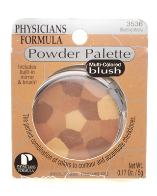 ​Physicians Formula POWDER PALETTE Multi-Colored Blush, Mirror and Brush Included  .17oz