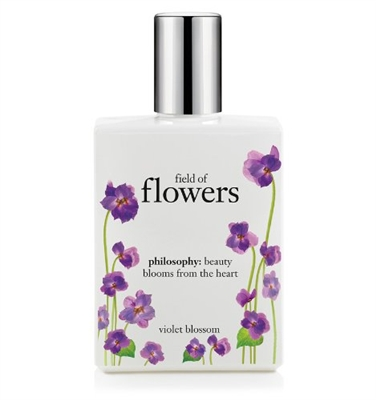 Philosophy Fields of Flowers Violet Blossom Spray Fragrance 2 Oz