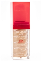 ​Revlon Age Defying Cream Makeup with DNA Advantage, SPF 20, 25 Medium Beige 1 fl oz