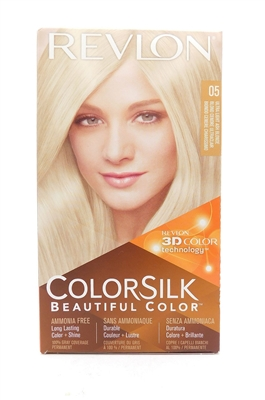 Revlon Colorsilk Beautiful Color 05 Ultra Light Ash Blonde 1 Application