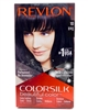 Revlon ColorSilk Beautiful Color 10 Black one application