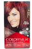 Revlon ColorSilk Beautiful Color 49 Auburn Brown, one application