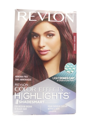 Revlon Color Effects Highlights Burgundy 1 Application