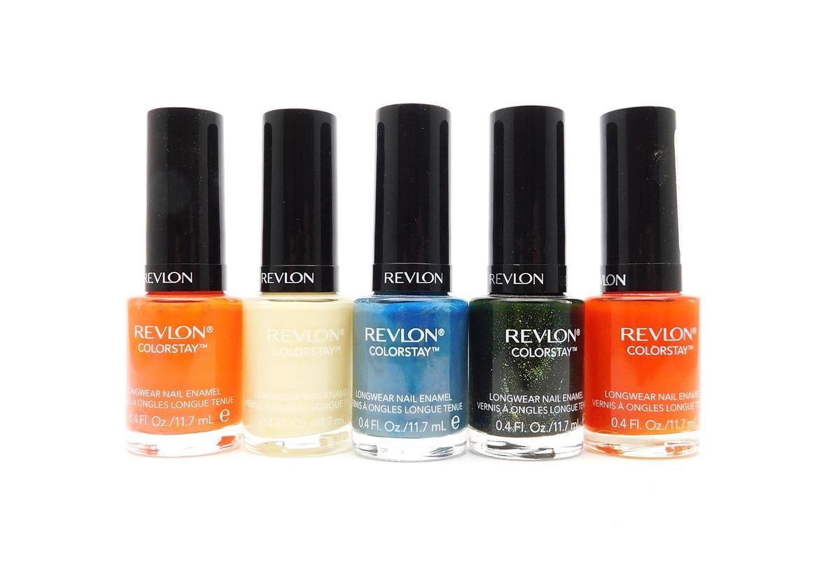 Revlon Colorstay Longwear Nail Enamel 5 Color Set: Marmalade ...
