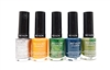 Revlon ColorStay Longwear Nail Enamel 5 Color Set: Sequin, Sorbet, Bonsai, Midnight, Spanish Moss (each .4 Fl Oz.)