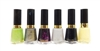 Revlon Nail Enamel 6 Color Set: Sassy, Rich, Scandalous, Timeless, Knockout, Sunshine Sparkle (each .5 Fl Oz.)