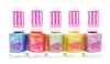 Rimmel Sweetie Crush Nail Polish set of 5: 012 Blueberry Whizz, 009 Candyfloss Cutie, 010 Fizzy Applelicious, 008 Sherbet Sweetheart, 011 Violet Swizzle (each .27 Fl Oz.)