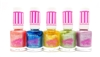 Rimmel Sweetie Crush Nail Polish set of 5: 009 Candyfloss Cutie, 012 Blueberry Whizz, 008 Sherbet Sweetheart, 010 Fizzy Appleicious, 011 Violet Swizzle (each .27 Fl Oz.)