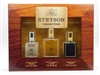 Stetson Cologne 3 Pc Collection Set: Original 1 Oz, Caliber .5 Oz & Black .5 Oz
