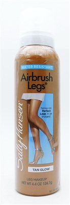 Sally Hansen Airbrush Legs Leg Makeup Tan Glow 4.4 Oz.