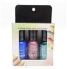Sally Hansen Xtreme Wear Nail Polish Set: Boho Blue, Pink Satin, Wet Suit (each .40 Fl Oz.)