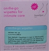 SweetSpot on-the-go wipettes Unscented- 7 Wipettes  Great for Travel