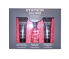 Stetson Caliber Set: Cologne 1 Oz, After Shave Balm & Hair Body Wash 2.5 Oz Ea