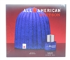 Stetson All American 2 Pc Set: Cologne Spray 1 Oz & Knit Ski Cap