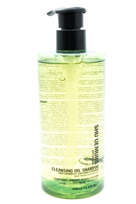 ​Shu Uemura Art Of Hair Cleansing Oil Shampoo, Anti-Dandruff Soothing Cleanser  13.4 fl oz