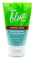 True Blue Spa Walnut Shell Smoothing Foot Scrub 4 Fl Oz.