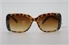 TAHARI by Elie Tahari Sunglasses DNTH1123-R TH560 TSLE Brown/Leopard