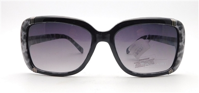 TAHARI by Elie Tahari Sunglasses DNTH1123-R TH560 OXLE Black/Leopard