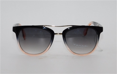 TAHARI by Elie Tahari Sunglasses Model CRTH1110-R TH654 OXPK Black/Pink