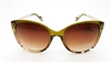 TAHARI by Elie Tahari Sunglasses Model UNTH0105-R TH657 OLTS  Honey Tortoise/Gold