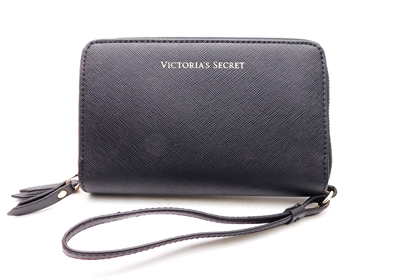 Victoria's Secret black Clutch/Wallet/Phone Case Purse with Wrist Strap