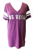 Victoria's Secret 'Las Vegas' 'Las Vegas Love Pink' Sports Tee purple Size Medium