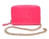 Victoria's Secret Pink Crossbody Clutch/Wallet/Phone Case Purse with Chain