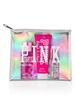 Victoria's Secret PINK Fresh & Clean 3 Pc Set Body Lotion 3.4 Oz ,Body Mist Mist 4.2 Oz and Eau de Toilette 1 Oz