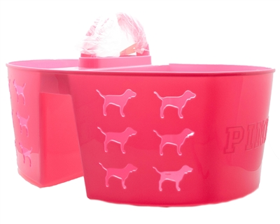 Victoria's Secret Pink SHOWER CADDY, Dog Logo