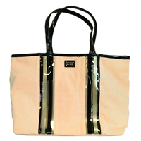 Victoria's Secret Pink Stripe Tote