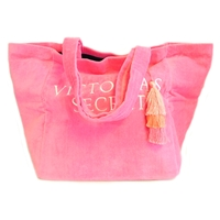 Victoria's Secret Pink Towel Fabric Tote