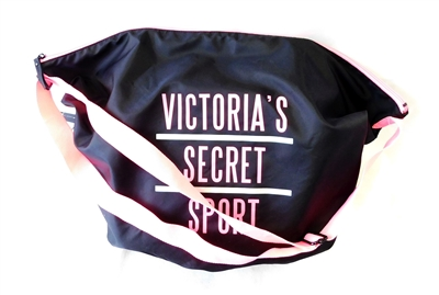 Victoria's Secret SPORT Gym Bag with Neon Pink Trim and Zipper