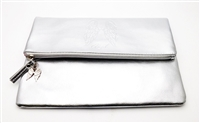 Victoria's Secret silver Fold Over Clutch