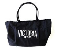 Victoria's Secret Victoria Sport black Canvas Tote