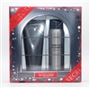 Victoria's Secret Very Sexy PLATINUM for Him 2 Pc Set: All Over Deo Spray 2.5 Oz & 2 in 1 Hair and Body Wash 3.4 Oz