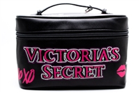 Victoria's Secret Love Weekender Train Case and Pink Color Cosmetics Bag