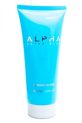 Alpha ALPHA BLUE Shower Gel   6.8 fl oz