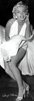 12x36 Marilyn Monroe (Seven Year Itch) - Art Print Poster Unframed