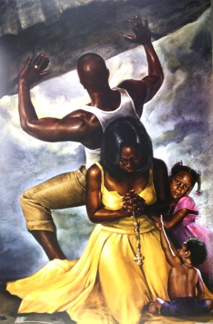 Behind Every Great Man By Wak Kevin A Williams 24x36